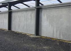 Murs en béton préfabriqués